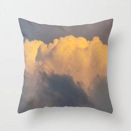Walking on cloud 9 Throw Pillow