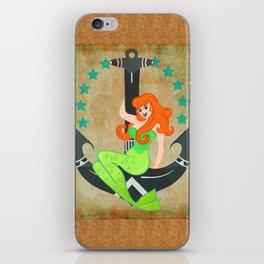 Cutiepie Mermaid  iPhone Skin