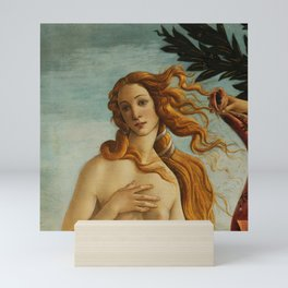 "Sandro Botticelli ""The Birth of Venus"" 2. Mini Art Print"