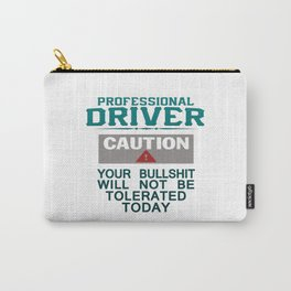 Truck Driver Safety Carry-All Pouch