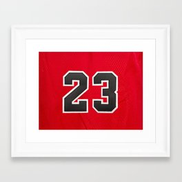 23 Framed Art Print