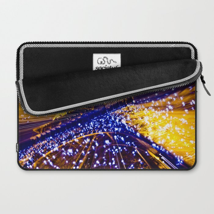 Supernova Eiffel Laptop Sleeve