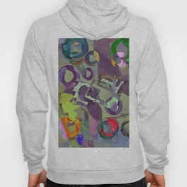 Living In A Purple Dream - Abstract, eclectic, random, purple. lilac, pastel artwork Hoody