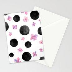 Flora dots Stationery Cards
