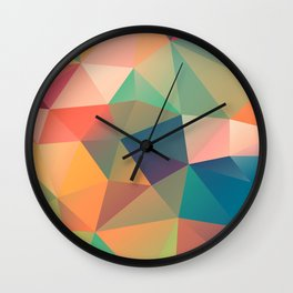 Geometric XIV Wall Clock