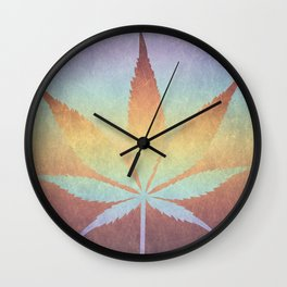Somewhere over the rainbow, way up high Wall Clock