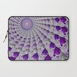 Tunnel Vision Purple Laptop Sleeve