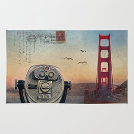 GOLDEN GATE RAIN - San Francisco Rug