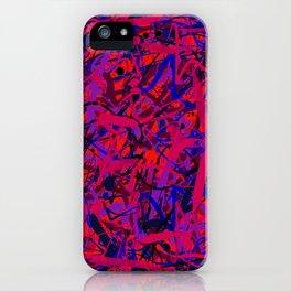 unreadable 2 iPhone Case