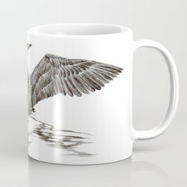 Morning Stretch - Common Loon Coffee Mug