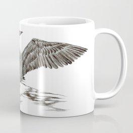 Morning Stretch - Common Loon Coffee Mug