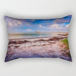 City Pier on Anna Maria Island Rectangular Pillow