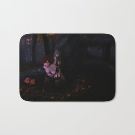 Danger in the Forest (NSFW) Bath Mat
