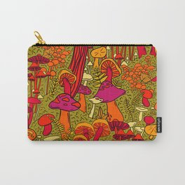 Mushrooms in the Forest Carry-All Pouch