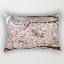 Cherry Blossoms in Osaka Rectangular Pillow