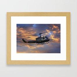 Huey Framed Art Print