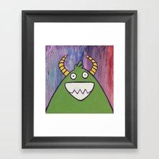 Monsters: Jimmy Framed Art Print