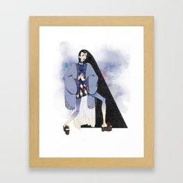 Indigo Tokyo Framed Art Print