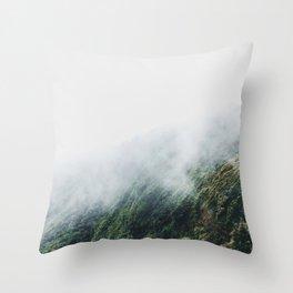 Continental Divide Throw Pillow