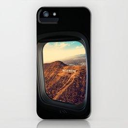 Bye bye american dream iPhone Case