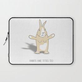 Rabbits Have Titties Laptop Sleeve