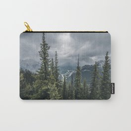 Landscape | View of Banff | Mountain Top Carry-All Pouch