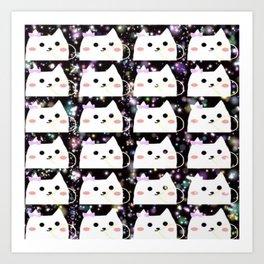 cats 20 Art Print