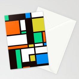 Mondrian 3 Stationery Cards