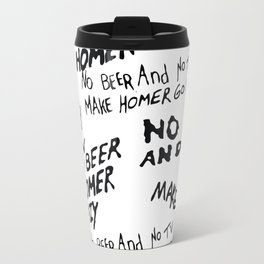 No Beer Travel Mug