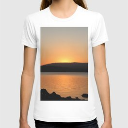Sunset Over the Lake T-shirt
