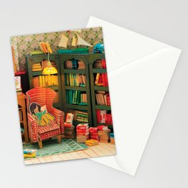 Reading Nook Stationery Cards