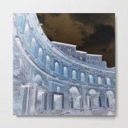 Almost dreamlike image of Trajan's Markets Metal Print
