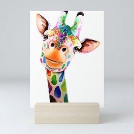 GIRAFE--ART Mini Art Print