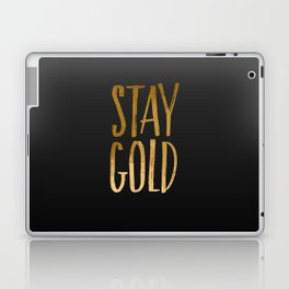 stay gold Laptop & iPad Skin
