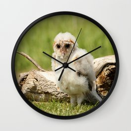 Wind Blown Wall Clock