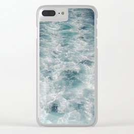 Sea Trails 3 Clear iPhone Case