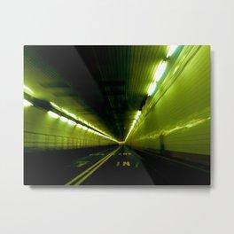 Tunnel Time Metal Print