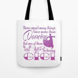 Dancing Gigi Tote Bag
