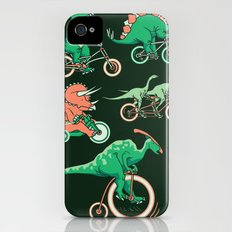 Dinosaurs on Bikes! iPhone (4, 4s) Slim Case