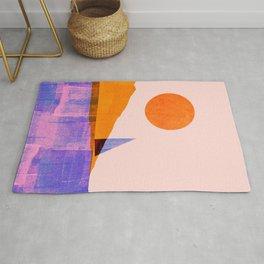 Abstraction_Sailing_Lake_Ocean_Minimalism_001 Rug