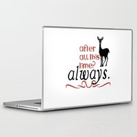 snape Laptop & iPad Skins featuring Harry Potter Severus Snape After all this time? - Always. by raeuberstochter