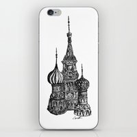 moscow iPhone & iPod Skins featuring Moscow by Name