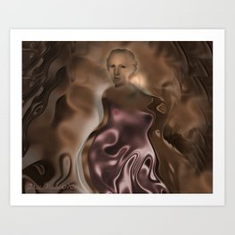 countenance  Art Print