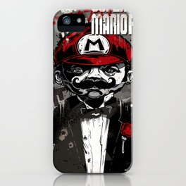Super Mario Father iPhone Case