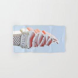 Ice cream eat neon Hand & Bath Towel