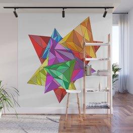 Triangular Wall Mural