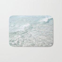Translucent Waves Bath Mat