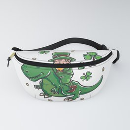 Funny St Patricks day Leprechaun graphic - perfect outfit Fanny Pack