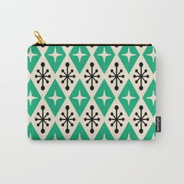 Mid Century Modern Atomic Triangle Pattern 112 Carry-All Pouch