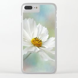 Cosmos Pastel by Kaye Menner Clear iPhone Case